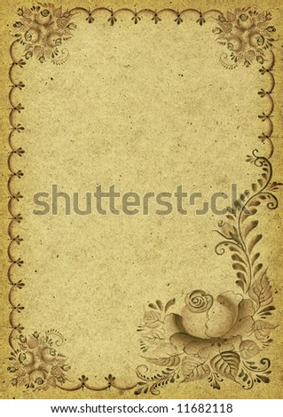 Vintage, old and retro background - stock photo