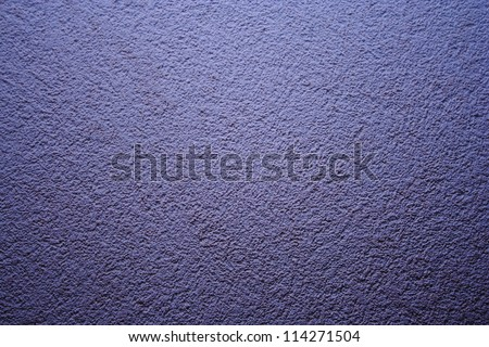 Vintage old blue grunge wall texture background - stock photo