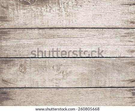 vintage old wood background - stock photo
