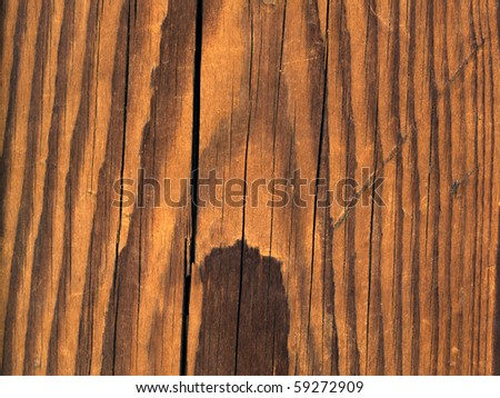 Vintage or grungy brown background of natural wood or wooden old texture as a retro pattern layout.It is a concept,conceptual or metaphor wall banner for time,grunge,material,aged,rust or construction - stock photo