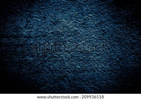 Vintage or grungy   Old wall texture, concrete blue background ,Art pattern background - stock photo