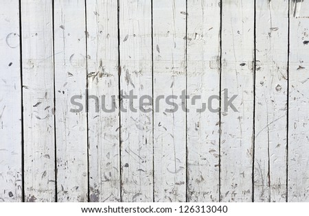 Vintage or grungy white background of natural wood or wooden old texture as a retro pattern wall. - stock photo