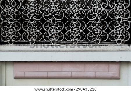 Vintage outdoor lattice - stock photo