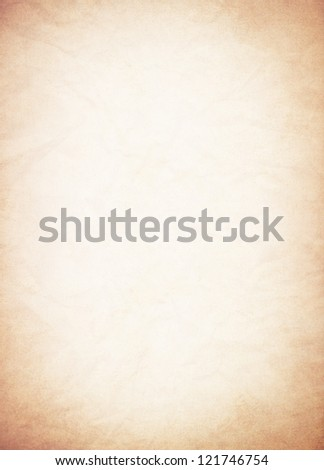 Vintage Page - stock photo