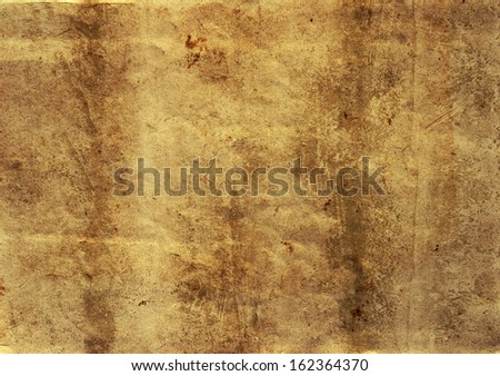 Vintage paper  for scrapbook - stock photo