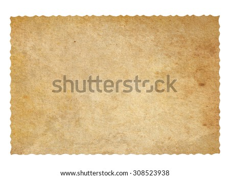 Vintage paper. Old paper background - stock photo