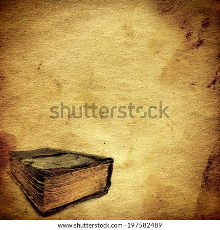 vintage paper template old book stock photo royalty free 197582489