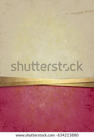 Vintage Paper Texture Old Background Stock Illustration