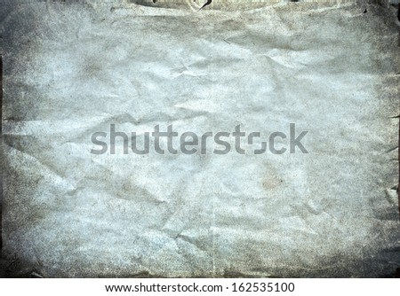 Vintage paper texture. Old worn paper  - stock photo