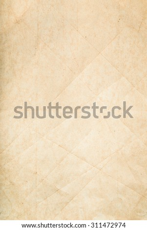 vintage paper with copy space - stock photo
