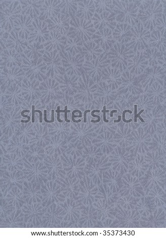 Vintage paper with snowflakes design - stock photo