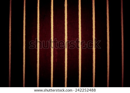 vintage pattern of the fabric - stock photo