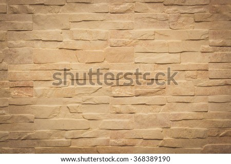 Vintage photo, Closeup of stone wall as background, brick wall texture