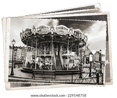 Vintage Carousel Horse Stock Images, Royalty-Free Images ...