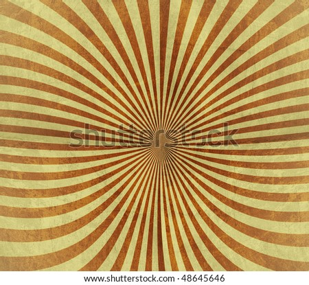 vintage rays pattern background - stock photo