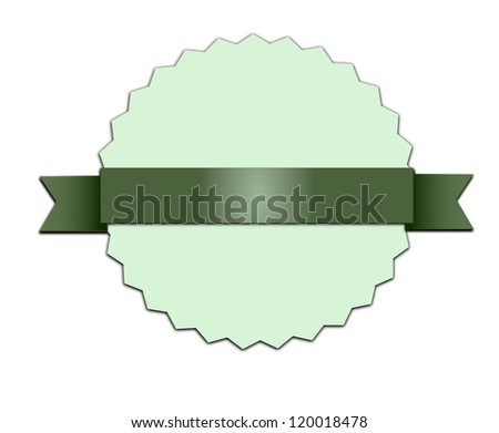 Vintage, retro, isolated badge. - stock photo