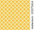 Vintage seamless pattern background - stock photo