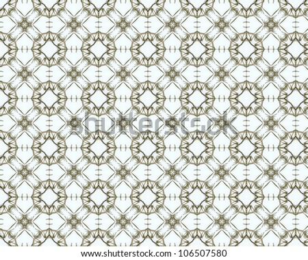 Vintage shabby background with classy patterns. Seamless vintage delicate colored wallpaper. Geometric or floral pattern on paper texture in grunge style.