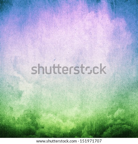 vintage sky background, grunge paper texture