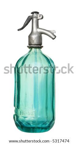 vintage soda bottle - stock photo