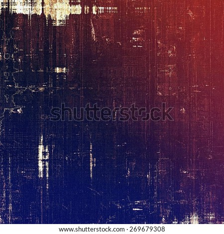 Vintage spotted textured background. With different color patterns: purple (violet); blue; red (orange); pink - stock photo