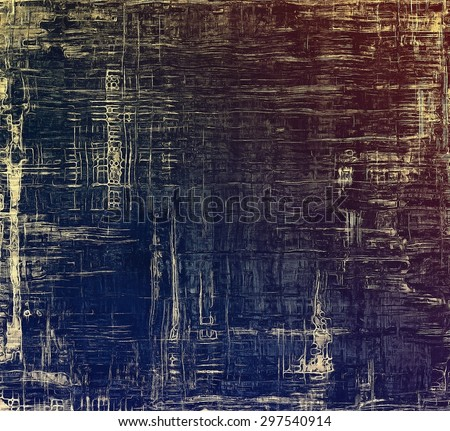 Vintage spotted textured background. With different color patterns: yellow (beige); brown; blue; purple (violet) - stock photo