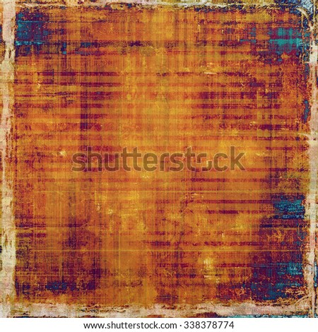 Vintage spotted textured background. With different color patterns: yellow (beige); red (orange); blue; purple (violet) - stock photo