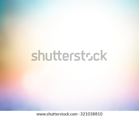 Vintage style. Abstract blurred textured background: rainbow patterns. Blurred nature background. Sandy beach backdrop with turquoise water and bright sun light. Summer holidays concept. - stock photo
