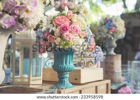 Vintage style decoration  - stock photo