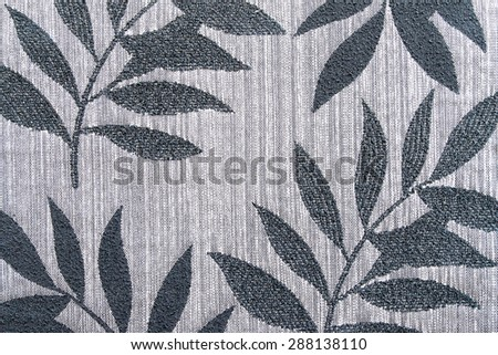 vintage style of tapestry fabric pattern background - stock photo