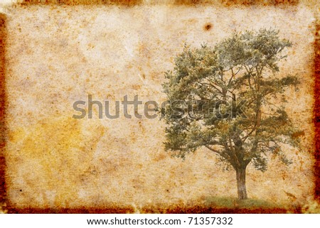 vintage style paper background - stock photo
