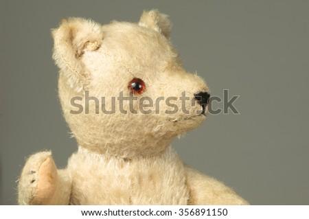 Vintage Teddy bear - stock photo