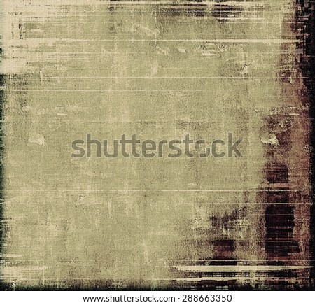 Vintage Template. With different color patterns: yellow (beige); brown; gray; black