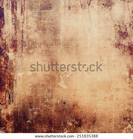 Vintage texture for background. With different color patterns: yellow (beige); brown; gray - stock photo