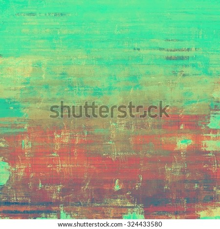 Vintage texture ideal for retro backgrounds. With different color patterns: brown; gray; red (orange); green - stock photo
