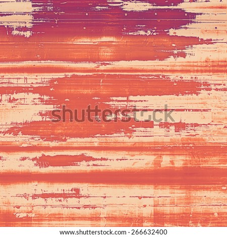 Vintage texture ideal for retro backgrounds. With different color patterns: yellow (beige); brown; pink; red (orange) - stock photo