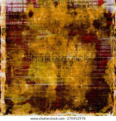 Vintage texture ideal for retro backgrounds. With different color patterns: yellow (beige); brown; gray; red (orange) - stock photo
