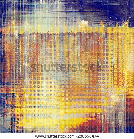 Vintage texture ideal for retro backgrounds. With different color patterns: yellow (beige); brown; blue; red (orange) - stock photo