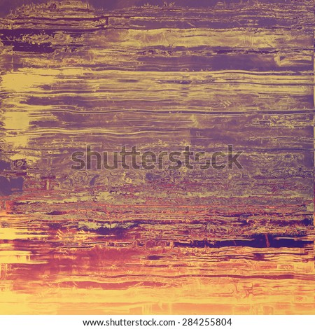 Vintage texture ideal for retro backgrounds. With different color patterns: yellow (beige); brown; gray; purple (violet) - stock photo