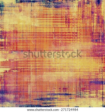 Vintage texture. With different color patterns: yellow (beige); purple (violet); blue; red (orange) - stock photo