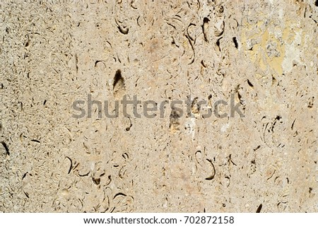 Vintage textured stone wall limestone plain background texture for design banner Wallpaper