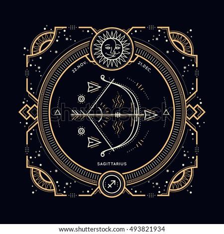 sagittarius stock images royaltyfree images amp vectors