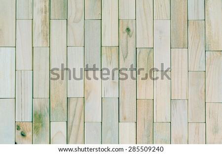 vintage tone of Background of Wooden Blocks  - stock photo