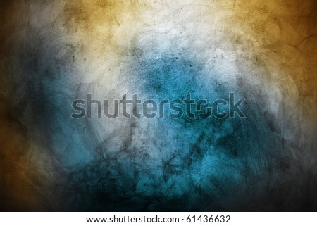 vintage wall - stock photo