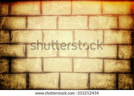 vintage wall background texture - stock photo