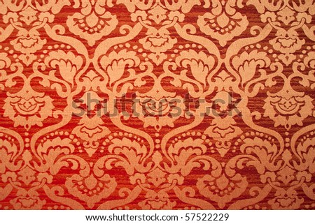 Vintage wallpaper. Background or texture - stock photo