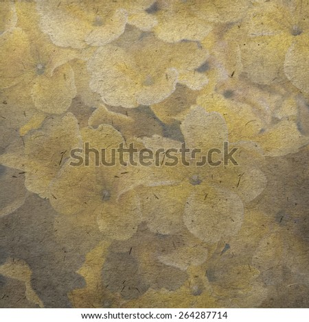 vintage wallpaper background with petunia - stock photo