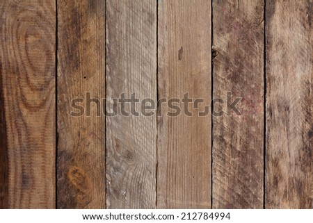 Vintage weathered wooden background - stock photo