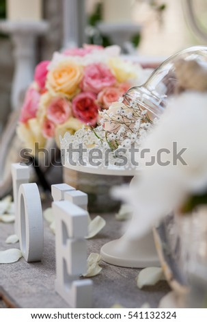 Vintage Weddings Decoration