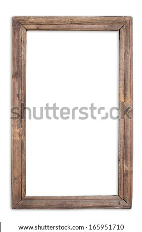 Vintage window frame, chinese style - stock photo